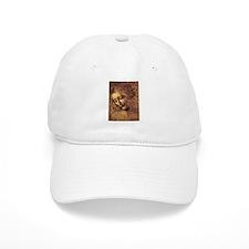 Leonardo Da Vinci La Scapigliata Baseball Cap