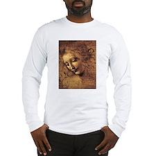 Leonardo Da Vinci La Scapigliata Long Sleeve T-Shi