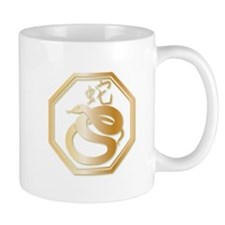 Gold tone Year of the Snake Mug