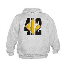 412 Black/Gold-W Hoodie