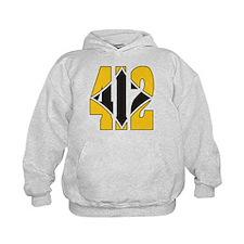 412 Gold/Black-W Hoodie
