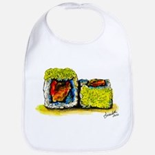Sushi Couple 3 Bib