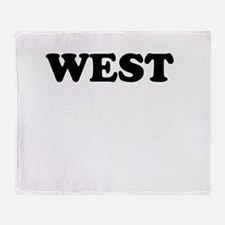 West Throw Blanket