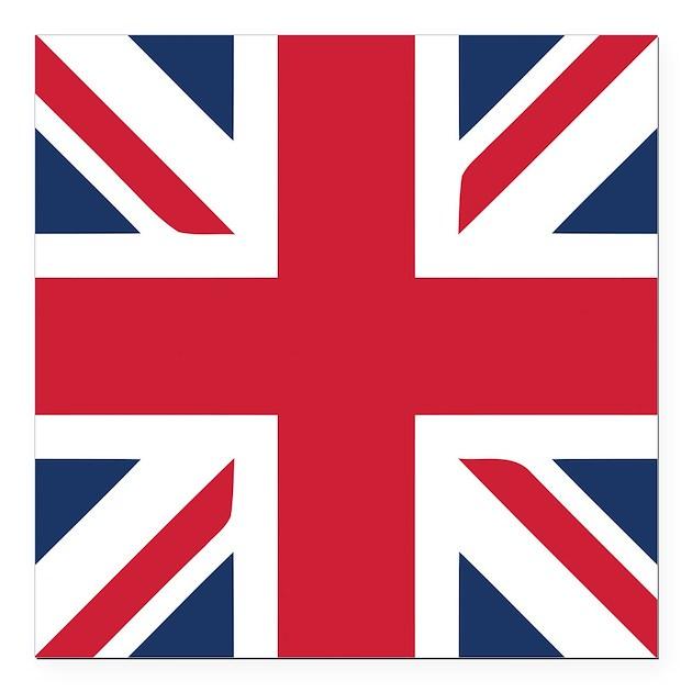 Schoudertas Union Jack : Classic union jack square car magnet quot by oneworldgear