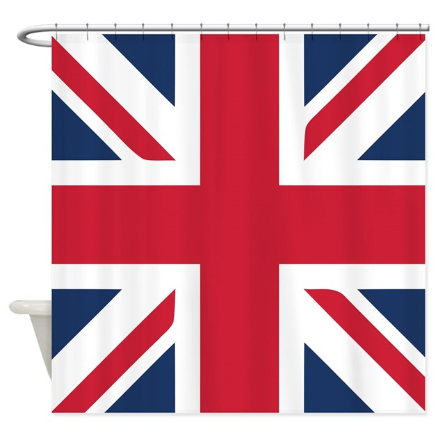 Schoudertas Union Jack : Classic union jack shower curtain by oneworldgear