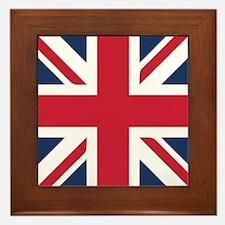 Classic Union Jack Framed Tile