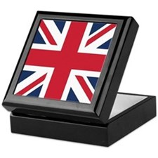 Classic Union Jack Keepsake Box