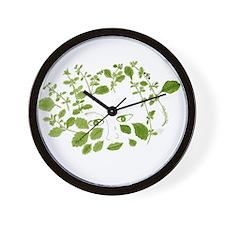 Sweet Melissa Herb Deva Wall Clock