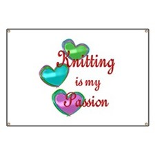 Knitting Passion Banner