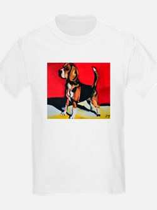Abstract Beagle Hound T-Shirt