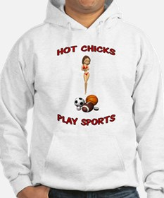 Unique Volleyball chick Hoodie