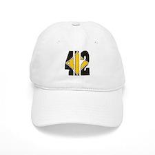 412 Black/Gold-W Baseball Cap