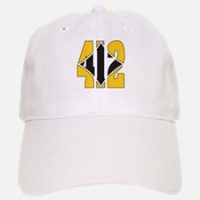 412 Gold/Black-W Baseball Baseball Cap