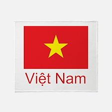 Vietnam Throw Blanket