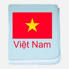 Vietnam baby blanket