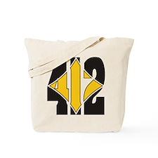 412 Black/Gold-W Tote Bag
