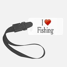 I Love Fishing Luggage Tag