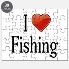 I Love Fishing Puzzle