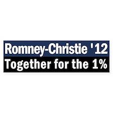 Romney-Christie 2012 Bumper Sticker