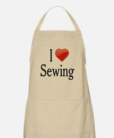 I Love Sewing Apron