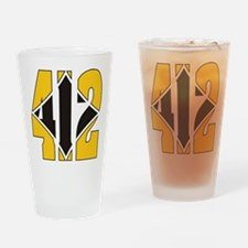 Cute Pittsburgh Drinking Glass