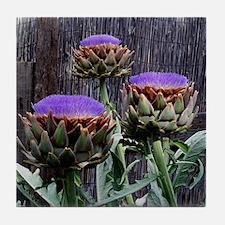 Bloomin Artichokes Tile Coaster