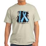 Grunge Prostate Cancer Light T-Shirt