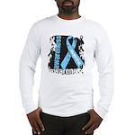 Grunge Prostate Cancer Long Sleeve T-Shirt