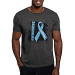 Grunge Prostate Cancer Dark T-Shirt
