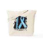 Grunge Prostate Cancer Tote Bag