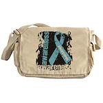 Grunge Prostate Cancer Messenger Bag