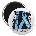 Grunge Prostate Cancer Magnet