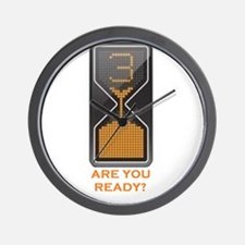 are you ready Wall Clock