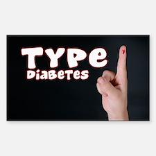Type 1 Diabetes Decal