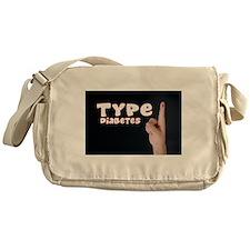 Type 1 Diabetes Messenger Bag