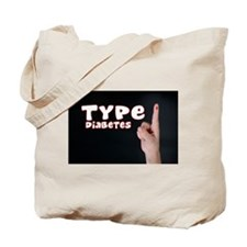 Type 1 Diabetes Tote Bag