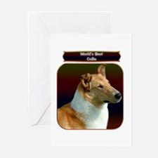 Collie 7 Greeting Cards (Pk of 10)