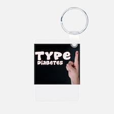 Type 1 diabetes Keychains