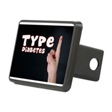 Type 1 Diabetes Hitch Cover