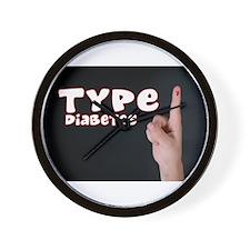 Type 1 Diabetes Wall Clock