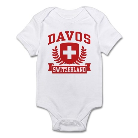 Davos Switzerland Infant Bodysuit