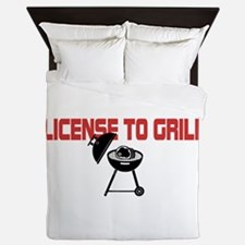 License To Grill Queen Duvet