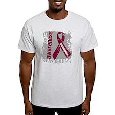 Grunge Multiple Myeloma T-Shirt