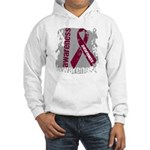 Grunge Multiple Myeloma Hooded Sweatshirt