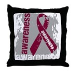 Grunge Multiple Myeloma Throw Pillow