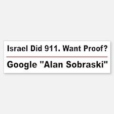Google Alan Sobraski Bumper Bumper Sticker