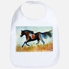 Painted Horse Bib