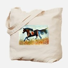 Painted Horse Tote Bag