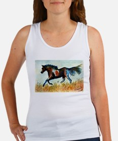 Painted Horse Women's Tank Top