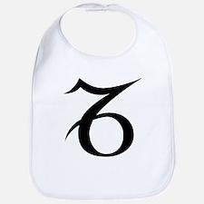 Capricorn Symbol Bib